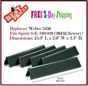 Flavorizer Bars fits Weber Spirit 300 310 E310 Grill Replacement Parts 7636