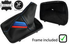 BLUE STITCH GEAR BOOT WITH PLASTIC FRAME FOR BMW E36 3 SERIES 91-99 M3