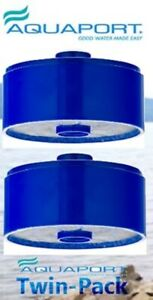 Aquaport AQP FCR Q Replacement Water Filters - Two Pack Genuine Aquaport