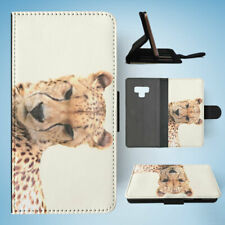 SAMSUNG GALAXY NOTE 9 FLIP CASE WALLET COVER|AFRICAN CHEETAH ANIMAL 2