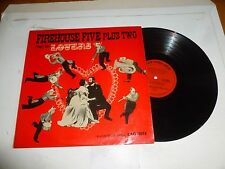 THE FIREHOUSE FIVE PLUS TWO - Plays for Lovers - 1950's UK 12-track Vinyl LP