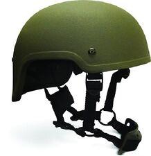 High Cut (Special Forces)  LVL IIIA Ballistic Helmet - OD Green