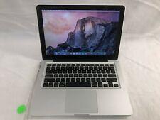 New listing Apple MacBook Pro A1278 i5-2415m @ 2.3Ghz 4Gb 500Gb w/ Yosemite (No Ps)