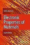 Electronic Properties of Materials by Rolf E. Hummel (2011, Hardcover)