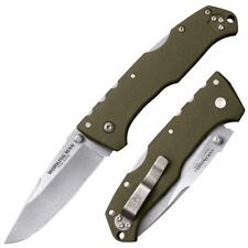 Cold Steel Working Man German 4116 Stainless Cryo Quenched OD Green Handle 54NVG