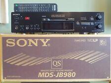 Sony MDS-JB980 Mini Disc Player/Recorder. QS Range