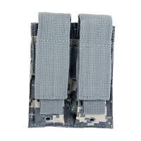 MOLLE 2 Pocket ACU CAMO Magazine Pouch fits Hk VP9 VP40 P2000 P30 USP Pistols