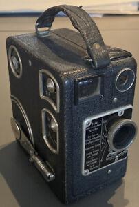 Stunning Rare Vintage 1933 Siemens B 16mm Clockwork Magazine Cine Camera Working