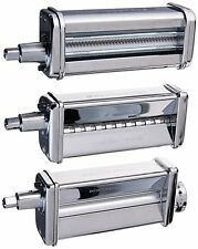 New KitchenAid Kpra Pasta Roller Mixer Roller Cutter Attachment Fits 4.5 to 8qt
