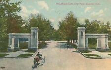 DENVER CO – City Park McLelland Gate - 1909