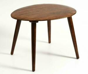 Foldable Oval Shaped Side Table/End Table/Coffee Table Furniture