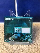 More details for sony mini disc minidisc color collection emerald green 74 minutes md74