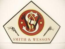 Original Smith Wesson pistol Display decal