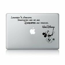 idecalworks Disney Quote Macbook Laptop Decal Vinyl Sticker Apple Mac Air Pro