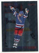 1995-96 Score Black Ice Artist's Proofs 50 Mark Messier