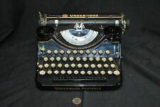 1930's Vintage Underwood Portable Typewriter w/ Case - EXCELLENT CONDITION