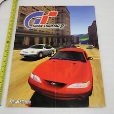 GRAN TURISMO 2 GT2/Soul eclaireur 2 The Legacy of Kain jeu PS1 Magazine poster