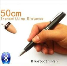 Pen Bluetooth Earpiece Spy Hidden Wireless Invisible Mini Covert Exam Test Exams
