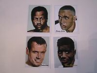 23 WORLD HEAVYWEIGHT BOXING CHAMPIONS LEICESTER TRADING CARDS -SERIES OF 24 BBA6