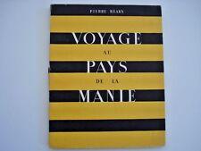 European Voyage au Pays, by Pierre Bearn, Artist Ray Bret Koch 1945 Paris inv324