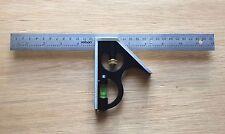 "ROLSON 12"" 305mm Professional English Metric Combination Square Full Metal"