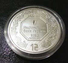NEW! Ukraine 2020 1 UAH Archangel Michael UNC Oz 999 Pure Silver Bullion coin