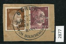 Dr Mi-NR 782 and 789 on letter piece with special postmark (2877)