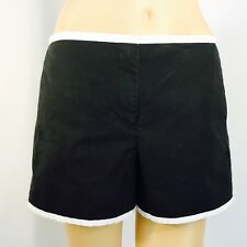 ARMANI EXCHANGE Casual Short Shorts, cotton, black, size 12
