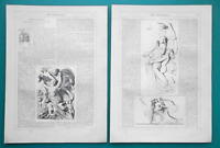 JOHN FLAXMAN British Sculptor - 1856 Biography Article + Illustrations