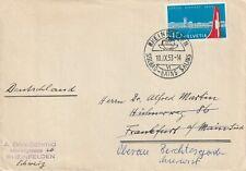 1953 Switzerland/Helvetia cover sent from Reinfelden to Frankfurt am Main