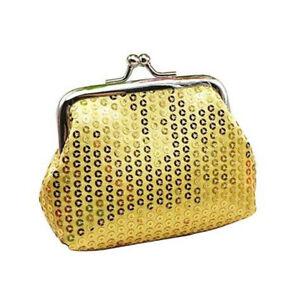 Fashion Kid Girl Sequin Coin Purse Mini Wallet Small Bag Christmas Birthday Gift