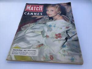 Ancien PARIS MATCH - 5 mai 1956 - Michèle Morgan n°369