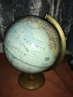 Vintage National Geographic Society Globe George F Cram Co Scale 1:42,134000