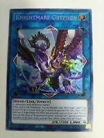 Yugioh Knightmare Gryphon FLOD-EN048 1st edition NEAR MINT + FREE SHIPPING