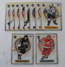 2002-03 Vanguard Hockey In Focus Set (1-10) Lemieux Yzerman Nash
