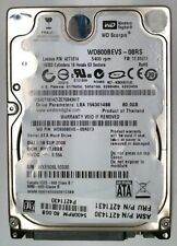 80 GB SATA  Western Digital WD800BEVS-08RS 5.4K RPM 2.5""
