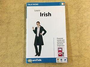 Talk Now! Learn Irish: Beginners CD-Rom Series By Eurotalk