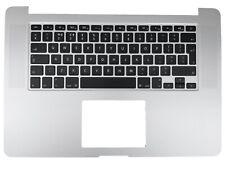 "Apple MacBook Pro Retina 15"" A1398 2015 Silver Palmrest UK Keyboard B661-02536"