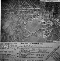 Zielstammkarten - Luftaufnahmen-Rumänische Städte