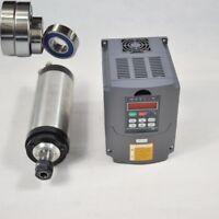 1.5KW ER11 WATER-COOLED SPINDLE MOTOR & 1.5KW VFD HIGH SPEED INVERTER MILL GRIND