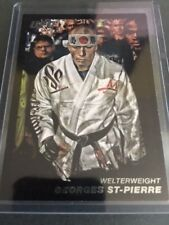 2011 Topps UFC Moment of Truth Black Card #100 Georges St-Pierre 68/88