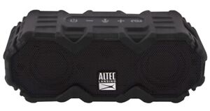 Altec Lansing Mini LifeJacket Jolt Portable Bluetooth Speaker with Lights, Black