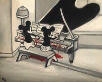 Original Artwork Creepy Gothic Horror Painting