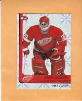 2001 02 HEADS UP CHRIS OSGOOD SP 165 RED #36 DETROIT RED WINGS