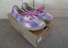 UGG Girls Shoes - Slip On - Pink - Noella Style - Size 2 UK - Boxed