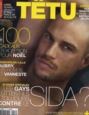 Tetu Magazine #128 12/2007 gay men french fashion CHRIS WHELAN