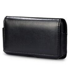 Funda Clip Cinturon Samsung Galaxy S3 MINI 2 i8190 S2 Cuero Negra negro JJ