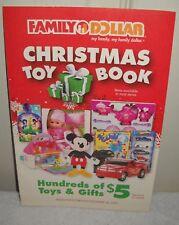 #9663 Family Dollar Stores 2009 Holiday Toy Catalog