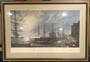 John Stobart, Philadelphia, Offset Lithograph, signed and numbered in pencil