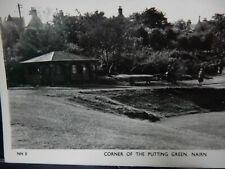 More details for golf  putting green  nairn  vintage postcard